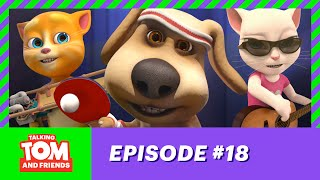 Talking Tom and Friends ep. 18 - Ping Pong Wizard