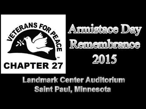 Armistice Day Remembrance 2015