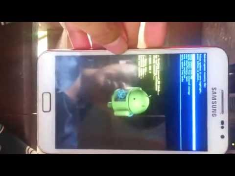 How to hard reset samsung Galaxy note 1 korea  (K,L,S)