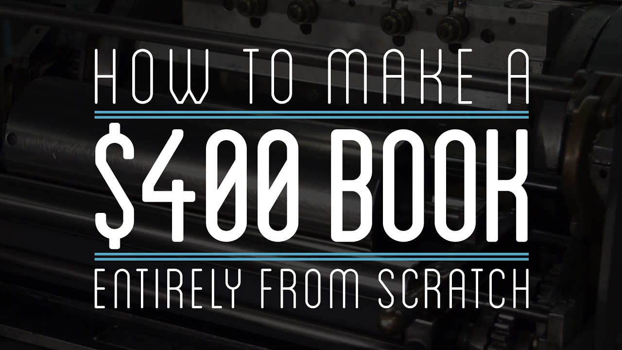 How To Make A Book Cover From Scratch ~ Making a book from scratch the awesomer