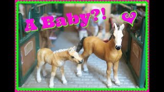 🐴COOKIE'S BABY SISTER! 🐴COOKIE'S LIFE Part 2 💖A NEW SCHLEICH HORSE ORIGINAL SERIES!🐴FIRST DAY TV