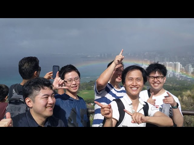 URB-E Hawaii 2/18/2020 Diamond Head Ride & Hike