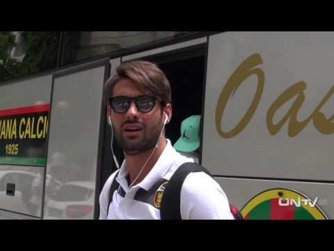 ONTV: La Ternana parte per il ritiro di Roccaporena