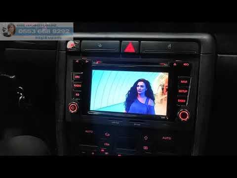 Audi A4 B6 Android Multimedya Ekran Teyp Inceleme - Emr Garage Ankara