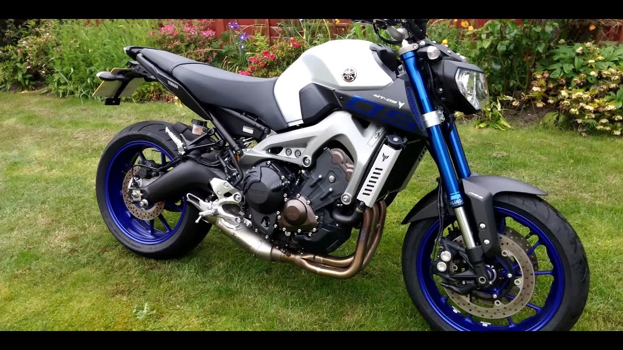2015 yamaha mt 09 abs race blu walkaround youtube. Black Bedroom Furniture Sets. Home Design Ideas
