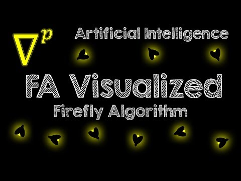 Firefly Algorithm (FA) Visualized - Artificial Intelligence