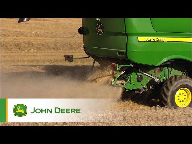 Kombajny John Deere serii S - Zagospodarowanie resztek pożniwnych