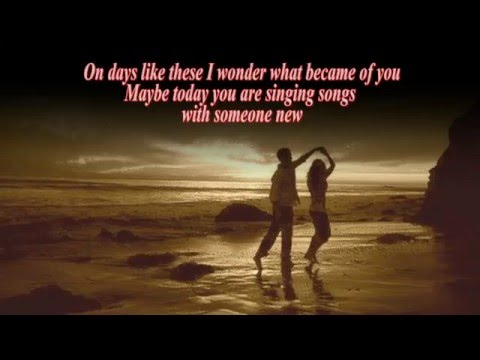 ON DAYS LIKE THESE (With Lyrics)  -  Matt Monro
