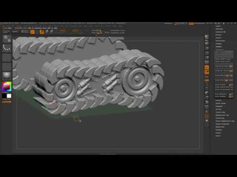CGI 3D Tutorials : Zbrush Metal Slug Fan Art Complete Modeling Timelapse