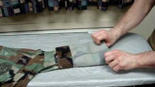 how to roll bdu sleeves usn usmc