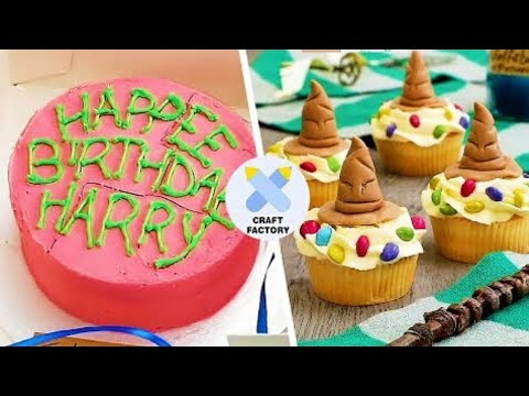 6 Harry Potter Themed Cupcakes | Harry Potter DIYs | Easy Cupcake Recipes | Craft Factory