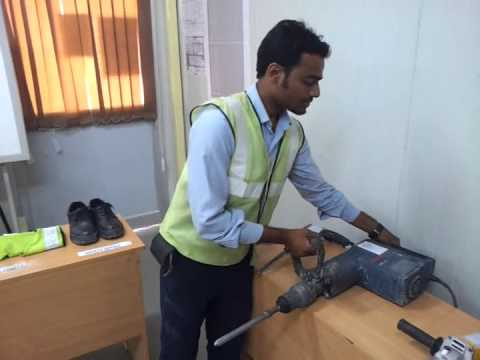 Safety Training for Safe use of power handtools in civil construction