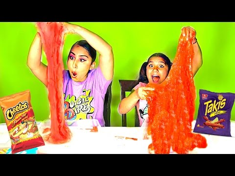 Hot Cheetos Slime vs Takis Slime! from YouTube · Duration:  22 minutes 1 seconds