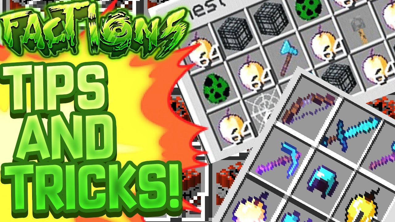 MINECRAFT FACTIONS TIPS AND TRICK #2 HOW TO MAKE MONEY YouTube