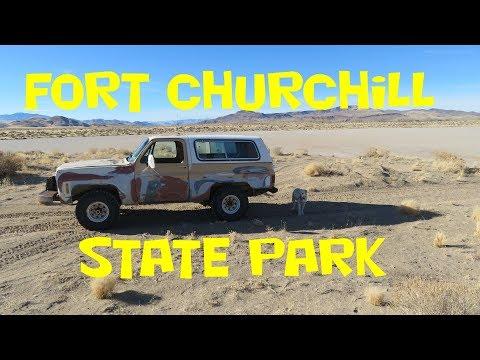 Fort Churchill State Park - Nevada Desert Exploring