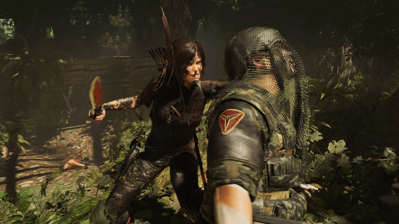 Ultra Gameplay Shadow Of The Tomb Raider Stealth Combat Youtube