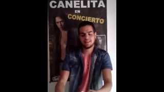 Antoñin agradece a Caneliteros.com por el regalo del megaposter!! - Canelita Web