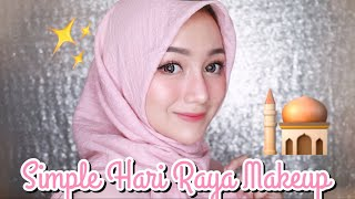 Simple Hari Raya Makeup Tutorial | Eid - Lebaran [LOKAL-DRUGSTORE]