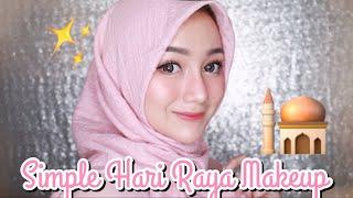 Video Simple Hari Raya Makeup Tutorial | Eid - Lebaran [LOKAL-DRUGSTORE] download MP3, 3GP, MP4, WEBM, AVI, FLV Agustus 2018