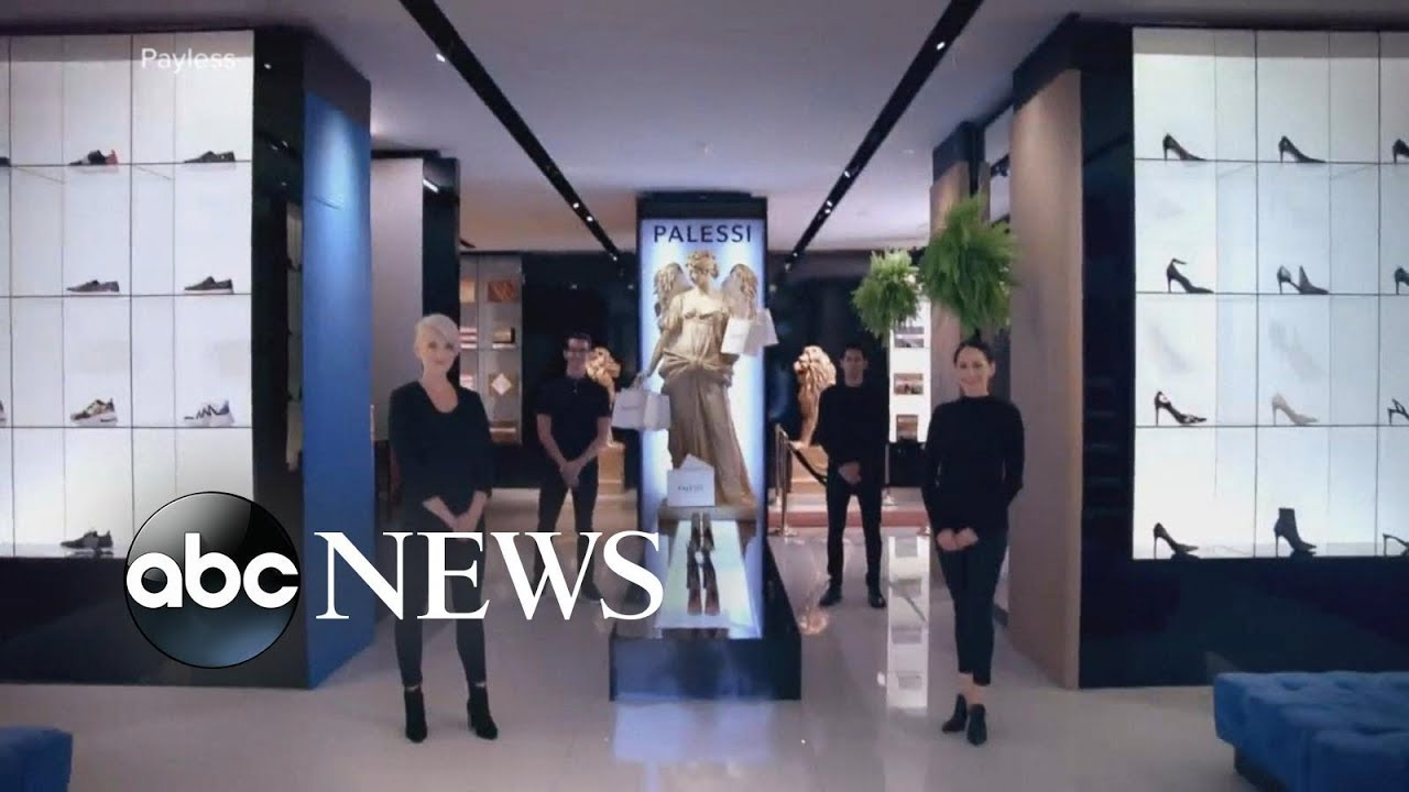 aaf89596e067 Payless opens fake luxury shoe store as prank. ABC News
