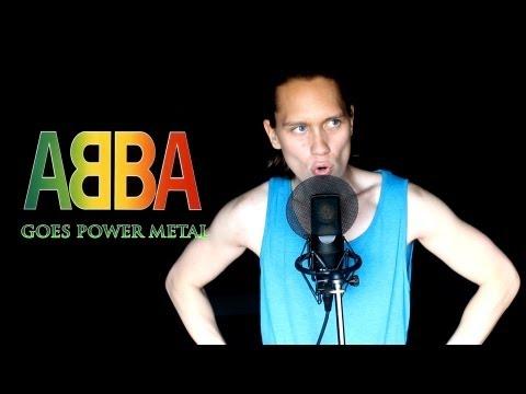 ABBA - DANCING QUEEN (Metal Cover)