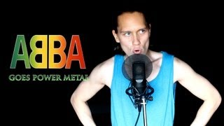 ABBA - DANCING QUEEN (Metal Cover)