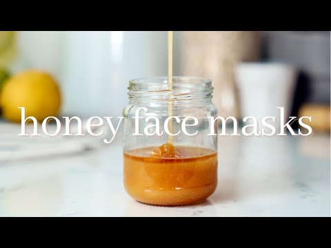 4 HONEY FACE MASK RECIPES FOR CLEAR HEALTHY SKIN