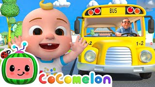 Wheels On The Bus School Best Of Cocomelon - Nursery Rhymes Sing Along With Me Moonbug Kids