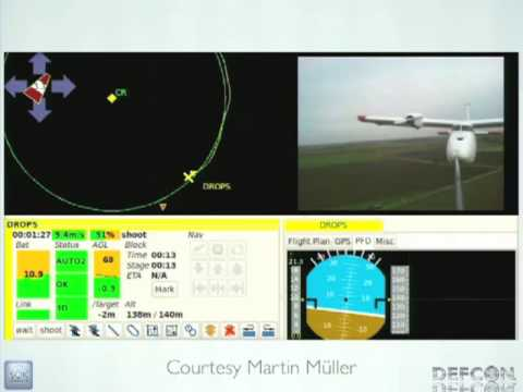 DEFCON 20: The Paparazzi Platform: Flexible, Open-Source, UAS Software and  Hardware