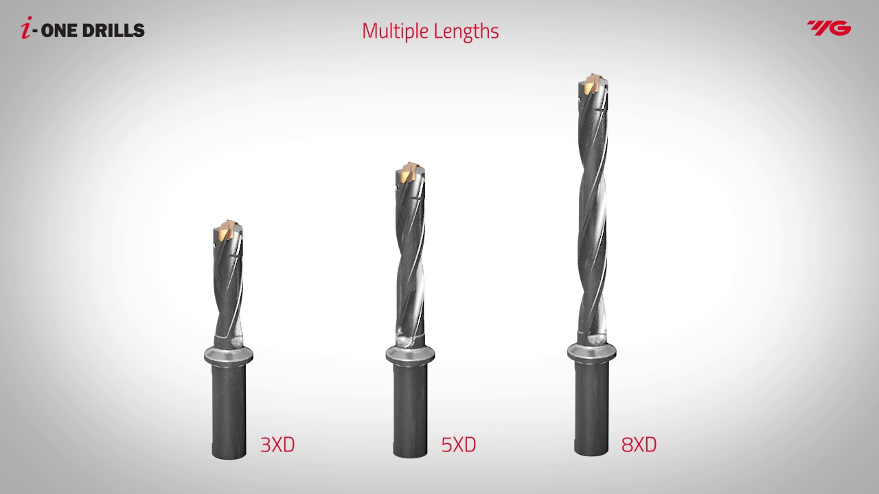 Exchangeable Drills and Tool Steel Holders For Faster Changeovers, Longer Insert life