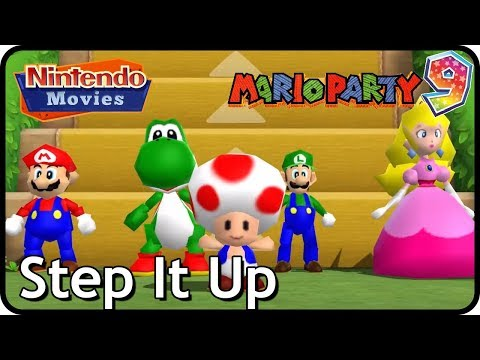 Mario Party 9 - Step It Up (awesome Mario Party 1 character mod!)