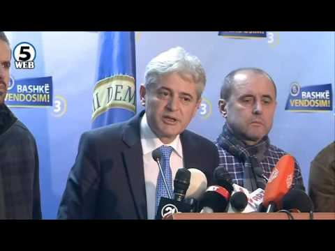 Ахмети: ДУИ победи на избори - Албанците изгубија мандати