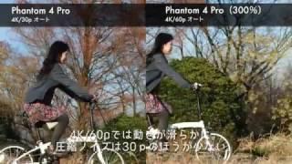 DJI Phantom 4 Pro画質・機能検証