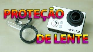 Lente protetora para a GoPro