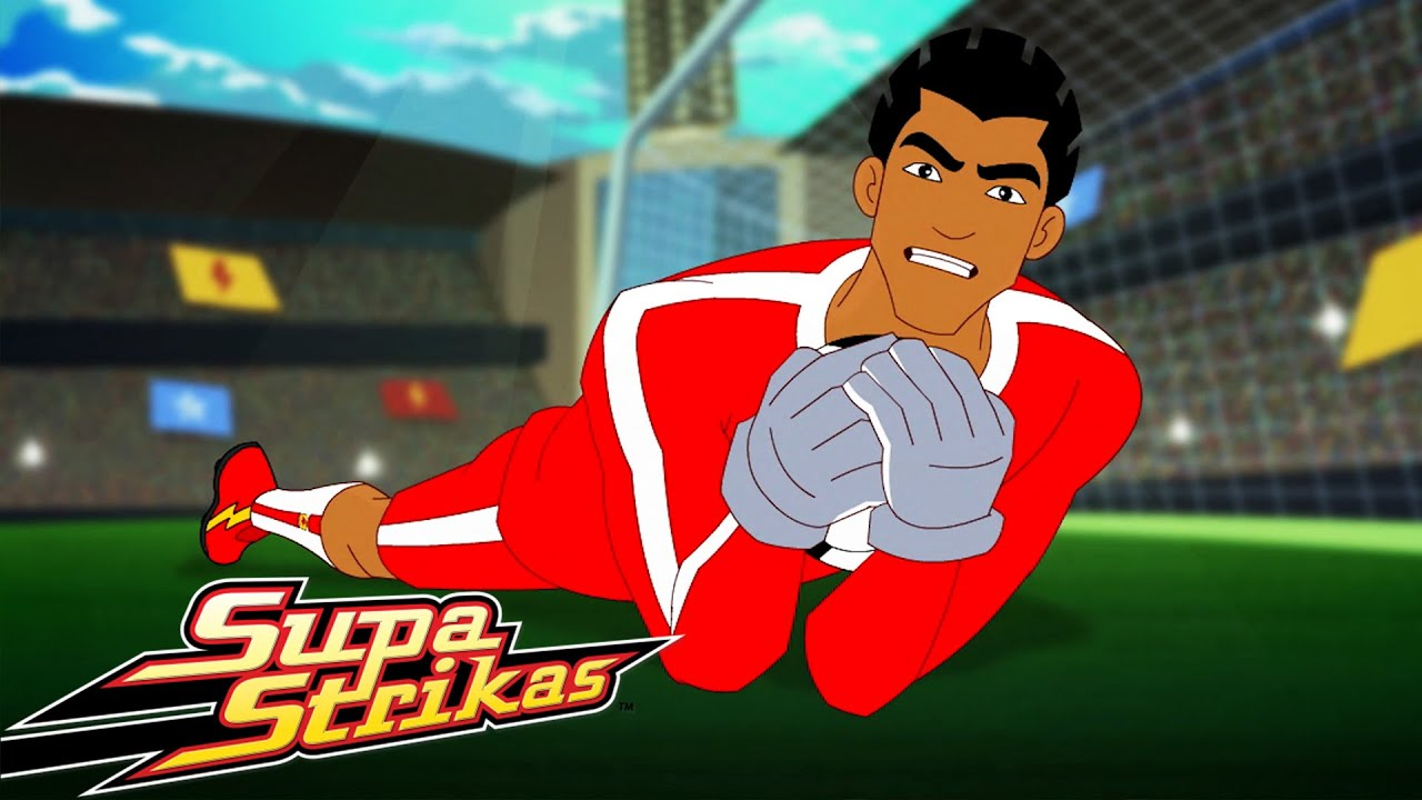 Shakes the GOALIE! Match of the day 10   SupaStrikas Soccer kids cartoons   Cool Football Animation