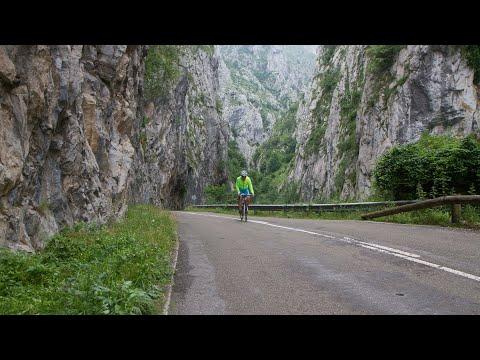 Puerto de Ventana from San Martin (Asturias, Spain) - Indoor Cycling Training