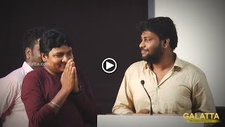 #MadrasCentral Team Comedy Mimicry at #MeesayaMurukku Success Meet