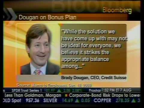 Credit Suisse's Unusual Bonus Plan - Bloomberg