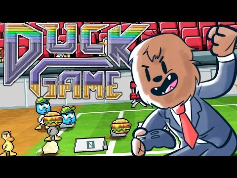 DUCK GAME - QUACKTASTIC ADVENTURES... See What I did There?
