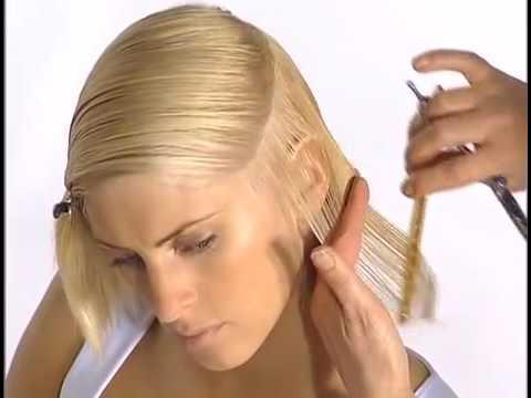 short bob haircut for round face / short hair cutting techniques for women
