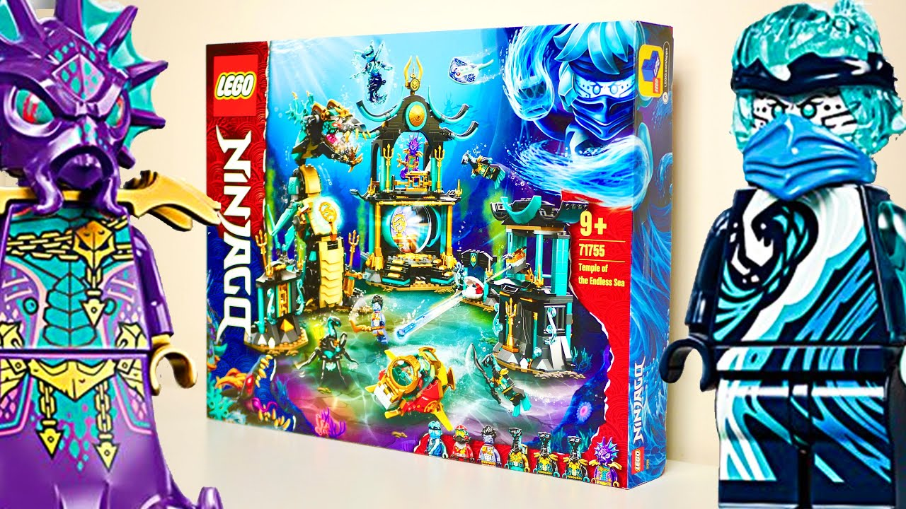 LEGO NINJAGO ŚWIĄTYNIA BEZKRESNEGO MORZA 71755 / RECENZJA