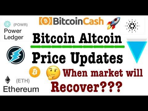 bitcoin btc altcoin price updates hindi ethereum ripple xrp litecoin ada bch bcc xvg crypto coin