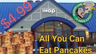 Gambar cover IHOP All You Can Eat Pancakes $4.99 National Pancake Day