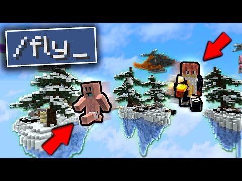 2 FLY HACKERS ON THE SAME TEAM! (Minecraft Money Wars)