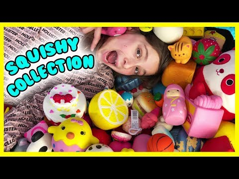 MY HUGE SQUISHIES COLLECTION 2018!! 😊❤️😍