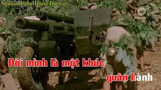 Hát mãi khúc quân hành - Karaoke QK7