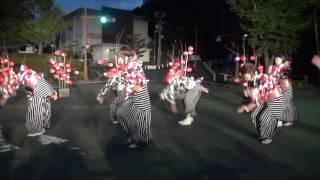 山口七夕ちょうちん祭り2017 舞龍人(パークロード・B会場)