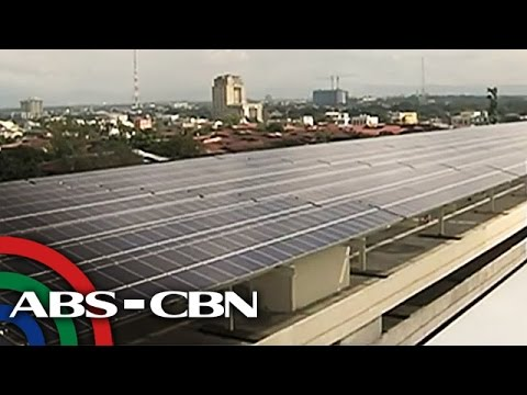 SM North EDSA, solar powered na