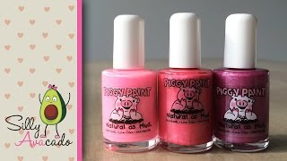 How to safely paint your child's nails w/ non-toxic kid-friendly Piggy Paint nail polish