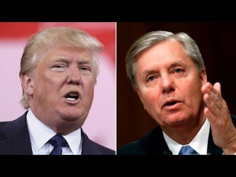 Sen. Lindsey Graham's camp fires back at Trump